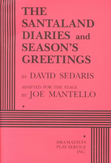 Santaland Diaries & Seasons Greetings By Sedaris, David